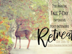 Fall Retreat in Dittmer, MO: Oct. 13-19, 2019