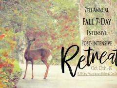 Fall Retreat in Dittmer, MO: Oct. 13-19, 2019